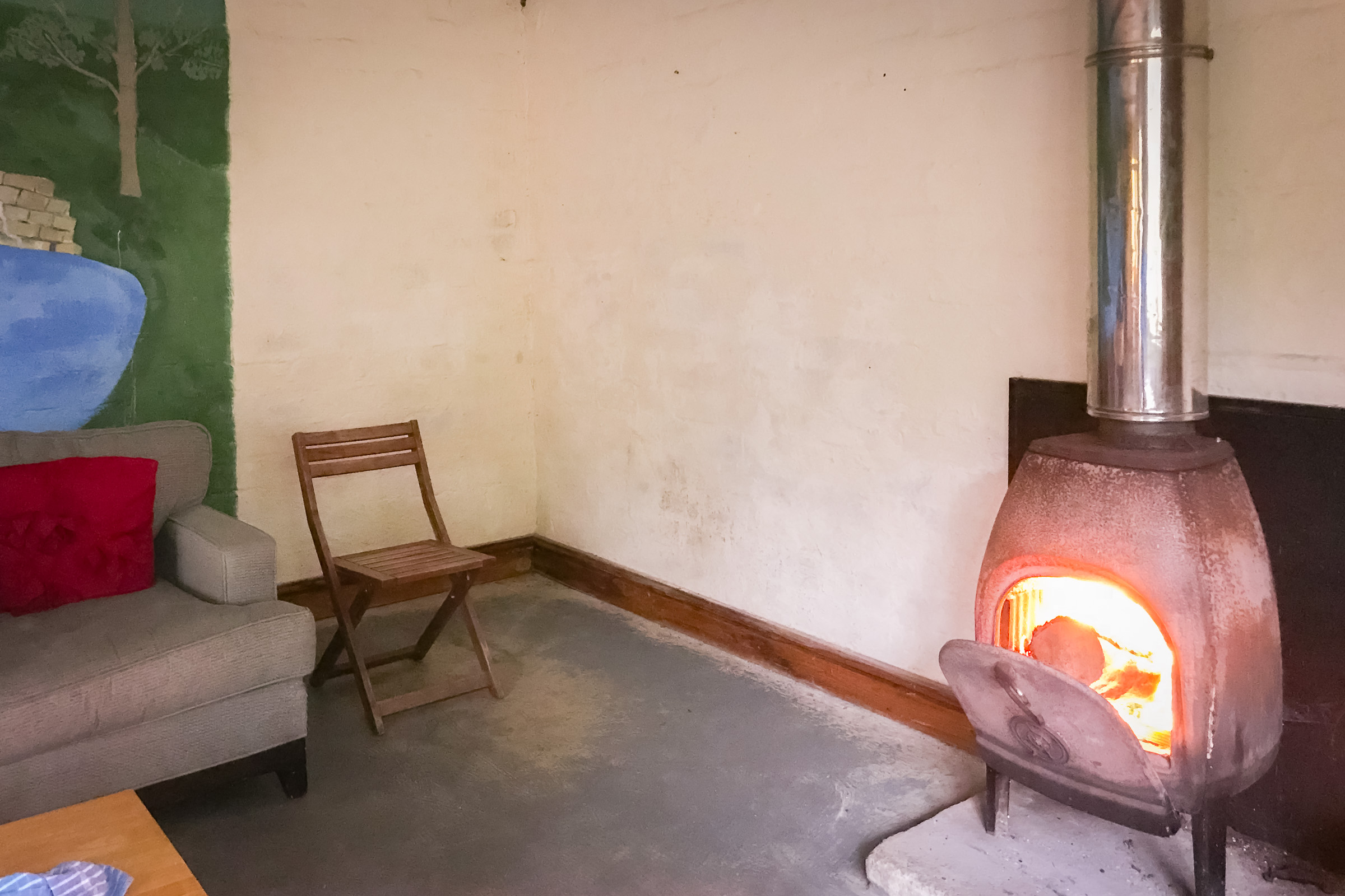 Painswick Glamping – Burner in Pavilion
