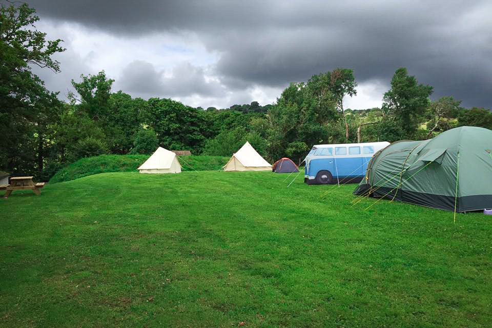 Painswick Glamping – Tent sites